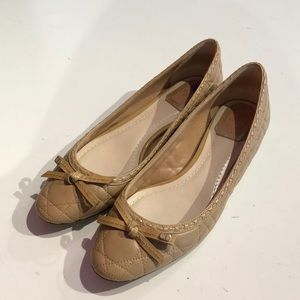 Christian Dior Quilted Leather Flats